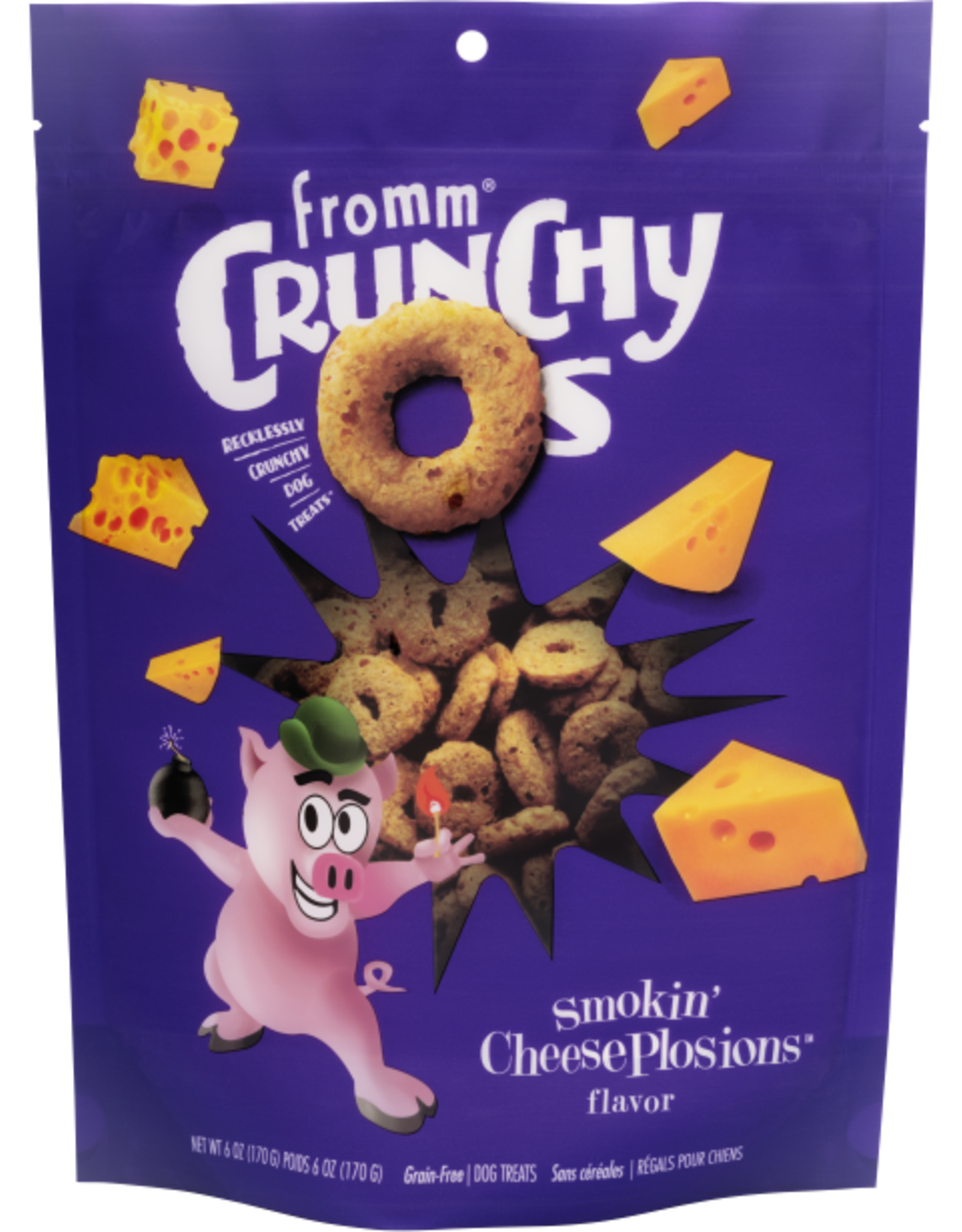 Fromm Fromm Dog Crunchy O's Cheese 6oz