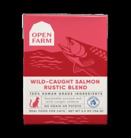 Open Farm Open Farm Cat Rustic Blend Salmon 5.5oz