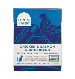 Open Farm Open Farm Cat Rustic Blend Chicken & Salmon 5.5oz