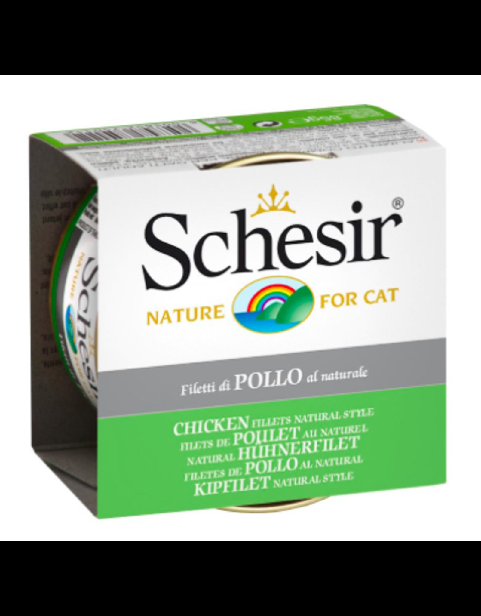 Schesir Schesir Cat Adult Chicken FILLETS NATURAL 85g