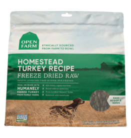 Open Farm Open Farm Homestead Turkey Freeze Dried Raw Dog Food 13.5oz