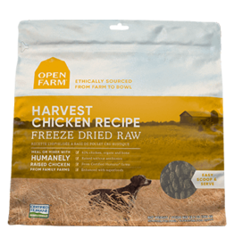 Open Farm Open Farm Harvest Chicken Freeze Dried Raw Dog Food 13.5oz