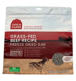 Open Farm Open Farm Grass Fed Beef Freeze Dried Raw Dog Food 13.5oz