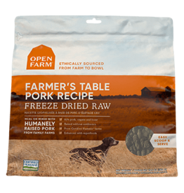 Open Farm Open Farm Farmer's Pork Freeze Dried Raw Dog Food 13.5oz