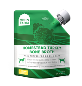 Open Farm Open Farm Turkey Bone Broth 12oz