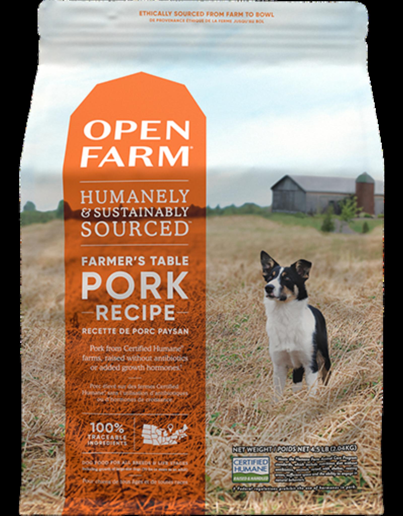 Open Farm Open Farm Farmer's Table Pork Dry Dog Food