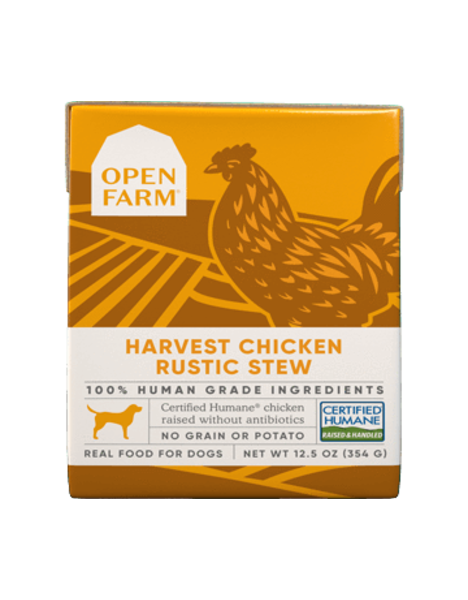 Open Farm Open Farm Dog Rustic Blend Stews 12.5oz Chicken