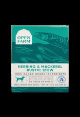 Open Farm Open Farm Dog Rustic Blend Stews 12.5oz Herring & Mackerel