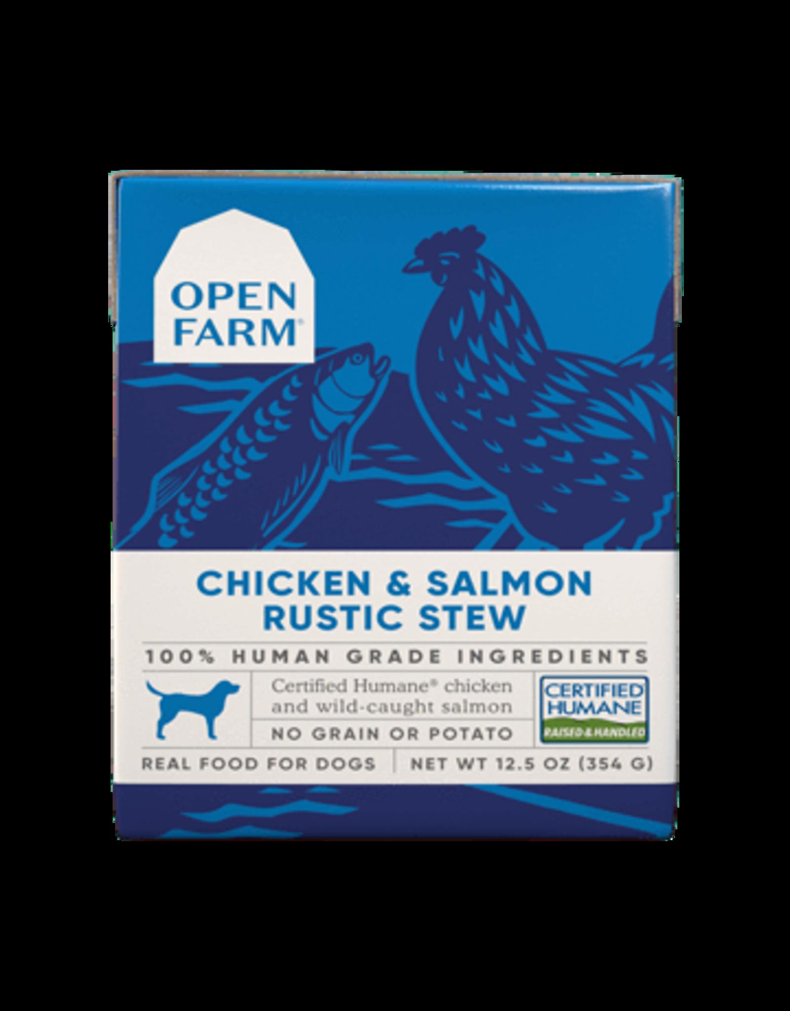 Open Farm Open Farm Dog Rustic Blend Stews 12.5oz Chicken & Salmon