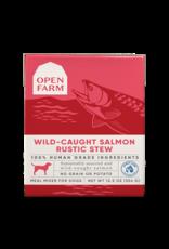 Open Farm Open Farm Dog Rustic Blend Stews 12.5oz Salmon