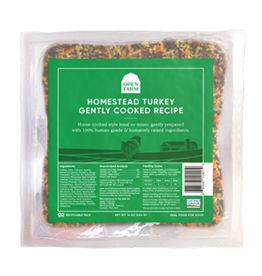 Open Farm Open Farm Homestead Turkey Gently Cooked Recipe