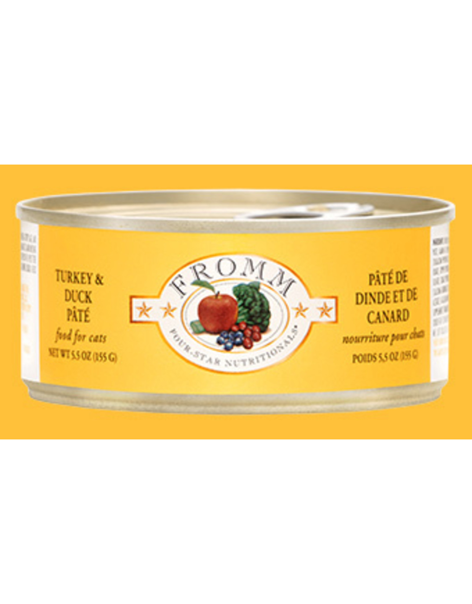 Fromm Fromm Cat Turkey & Duck Pate 5oz