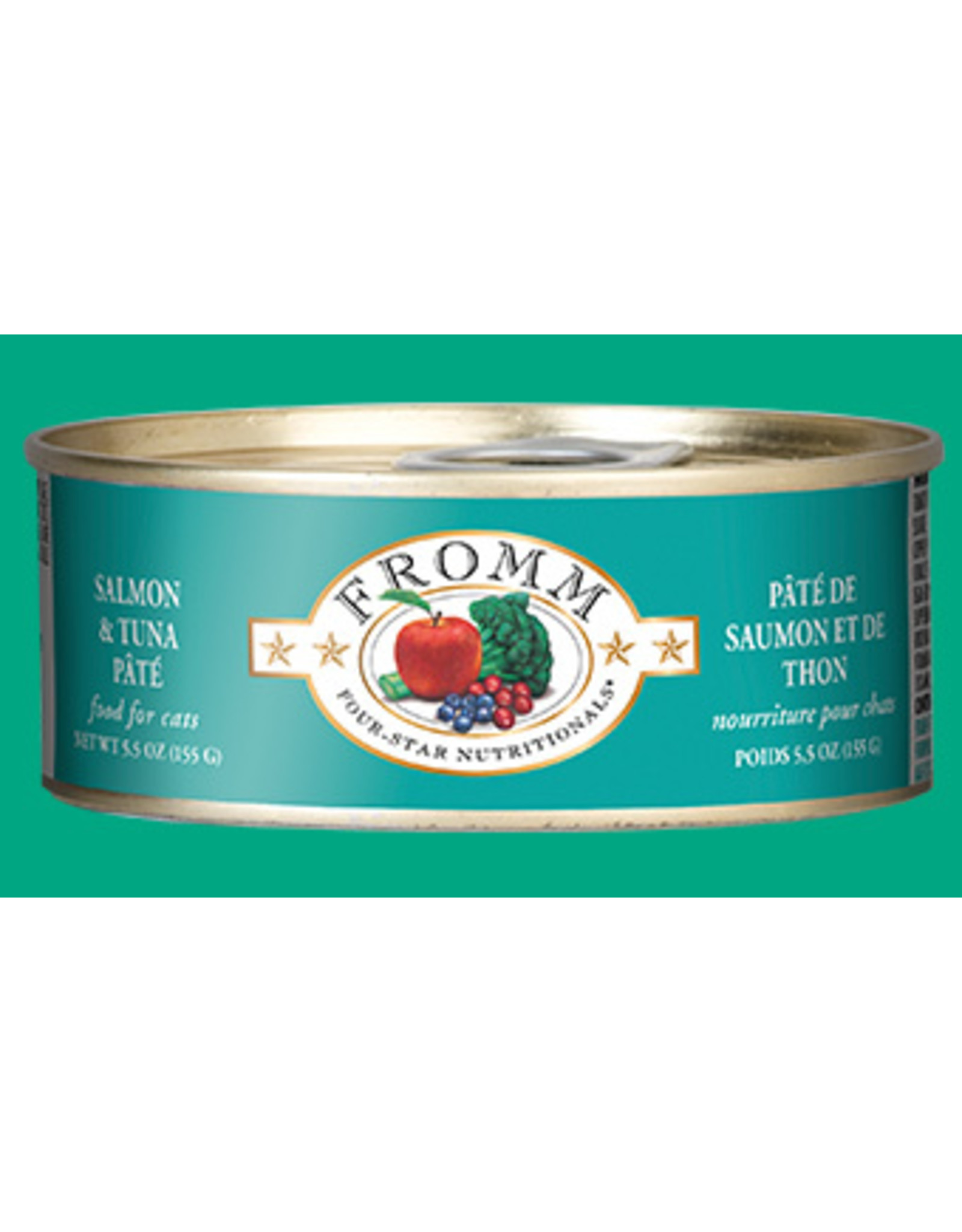 Fromm Fromm Cat Salmon & Tuna Pate 5oz
