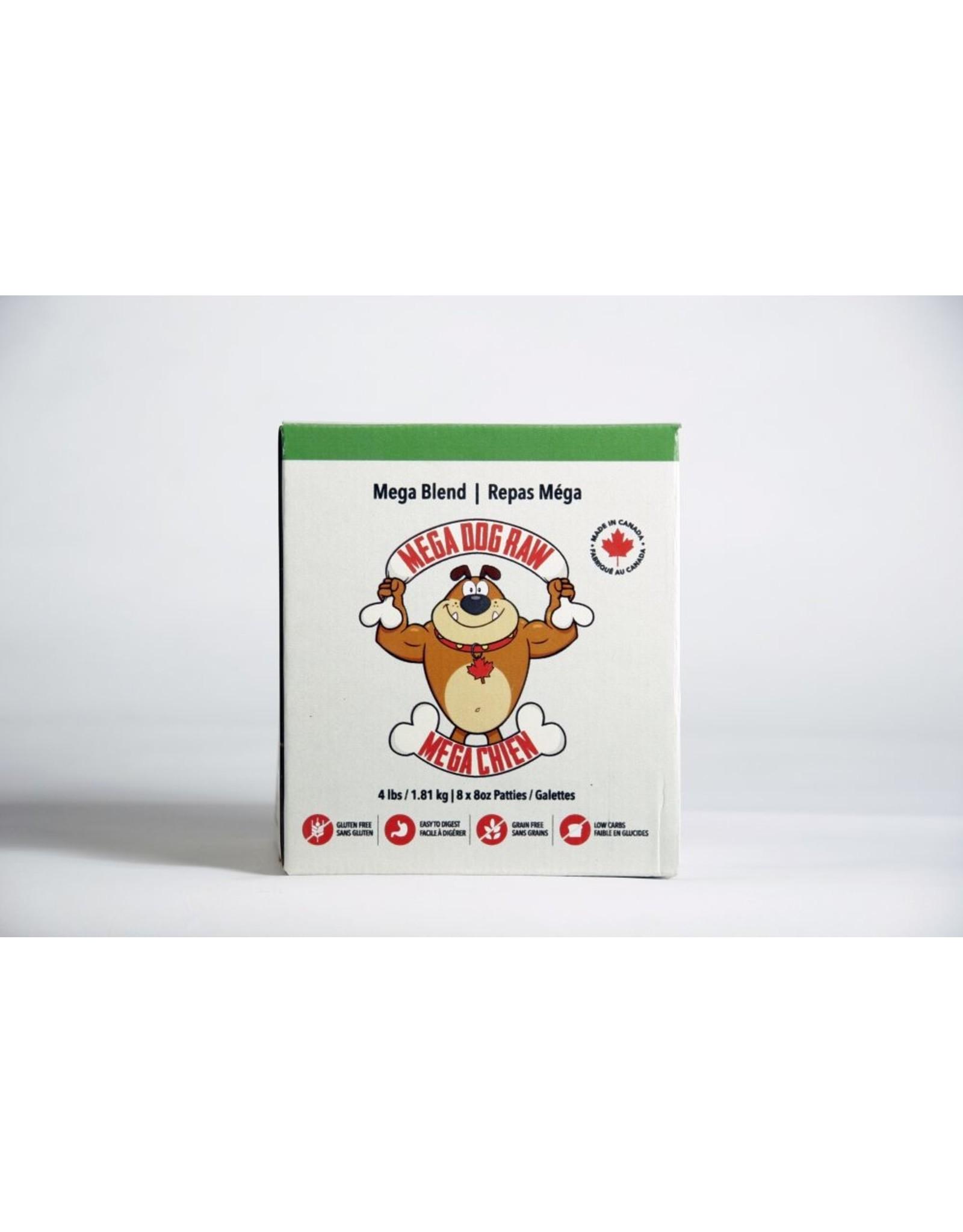 Mega Dog (FRZ) \ Mega Dog \ Mega Blend 4 lb Patties