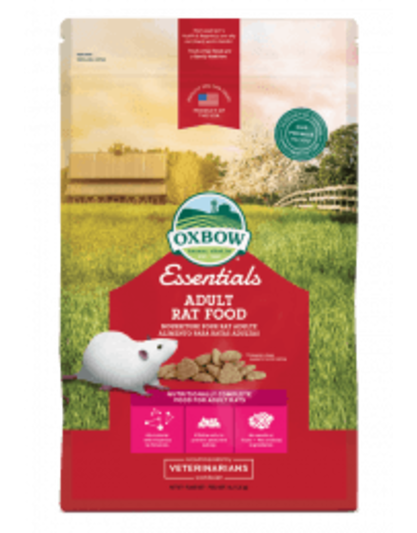 Oxbow OXBOW Essentials  Adult Rat 3lb