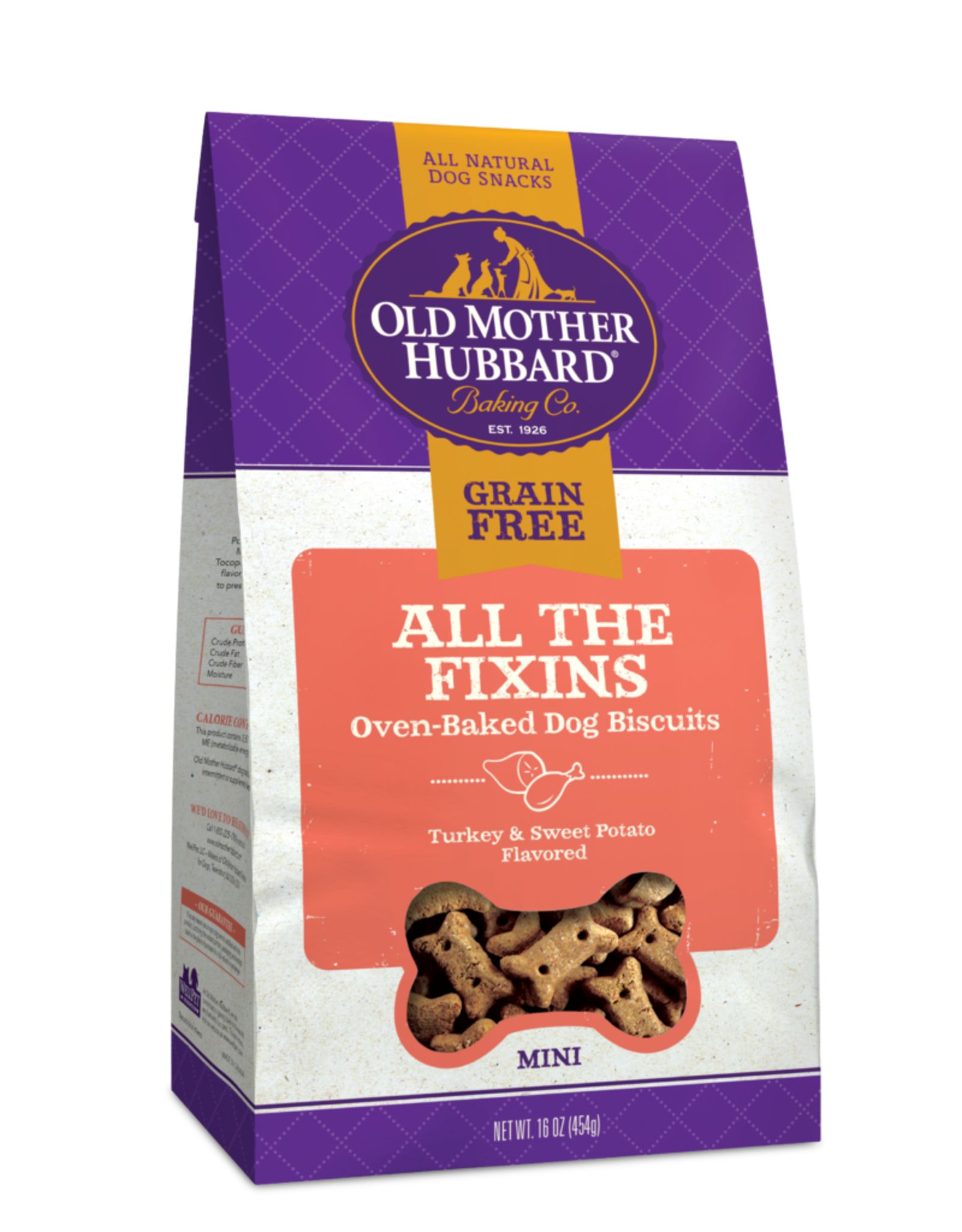 Old Mother Hubbard Old Mother Hubbard Grain Free All the Fixins Mini 16oz