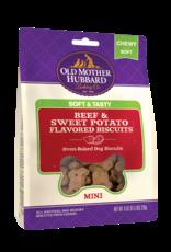 Old Mother Hubbard Old Mother Hubbard Soft & Tasty Beef & Sweet Potato Mini 8oz