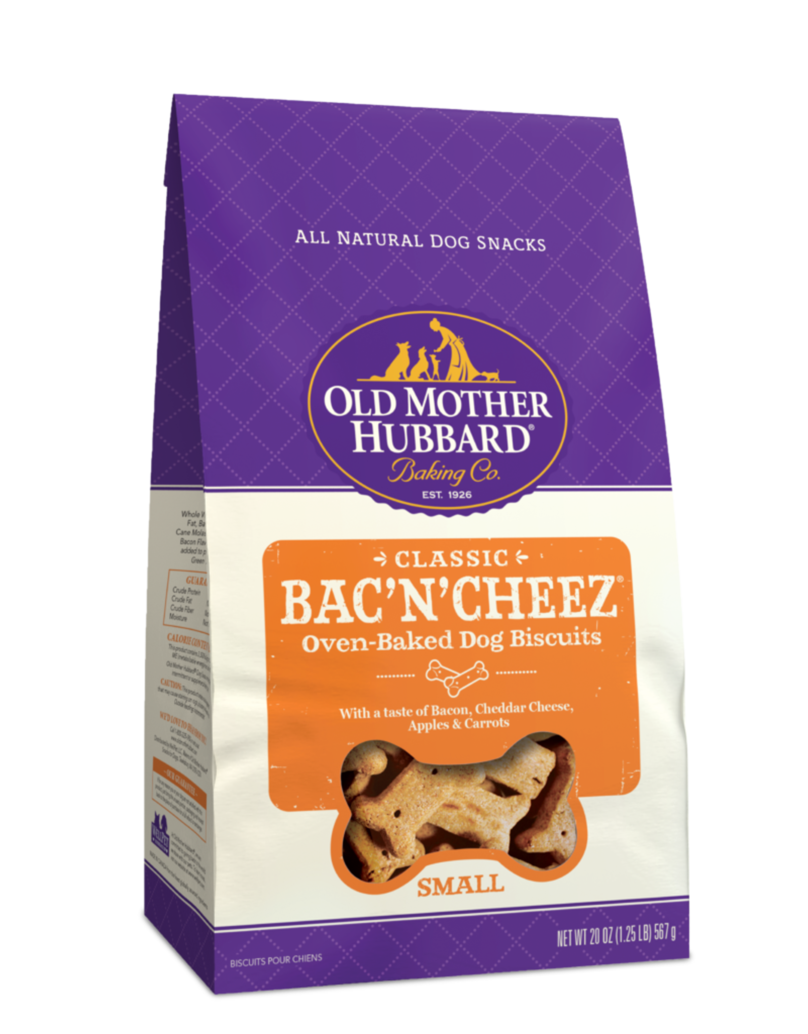 Wellness Old Mother Hubbard Bac'N'Cheez Large 3lb