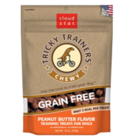 Cloud Star Cloud Star Chewy Grain Free Tricky Trainers Peanut Butter