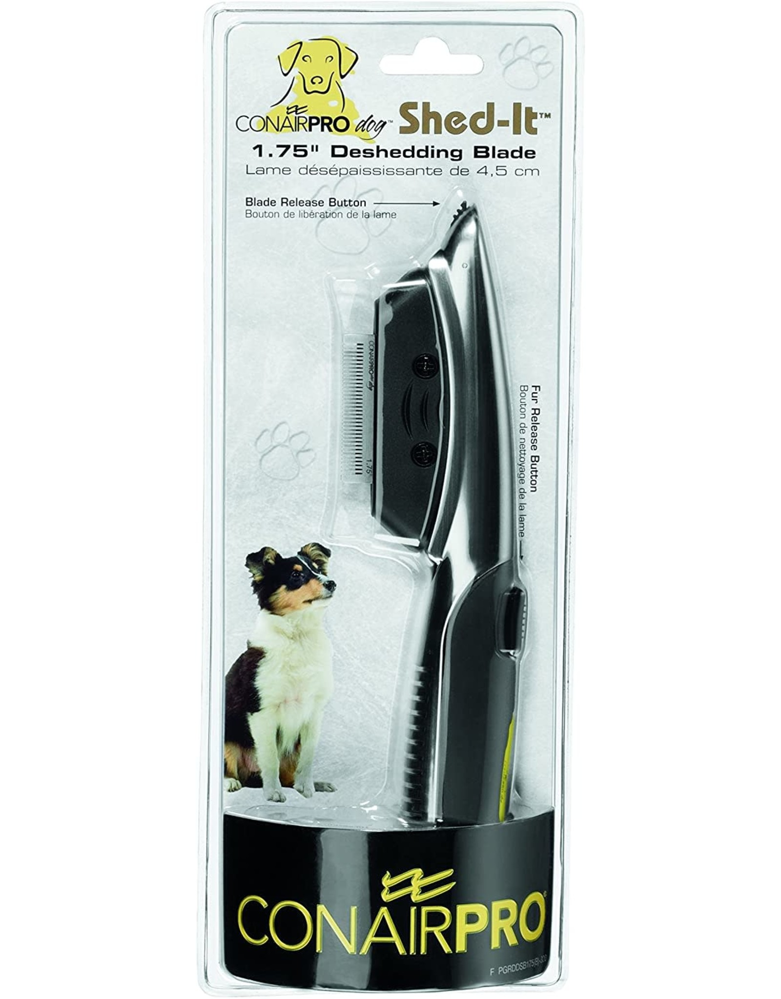ConairPro Conair Pro Dog Shed-It 1.75'' Deshedding Blade