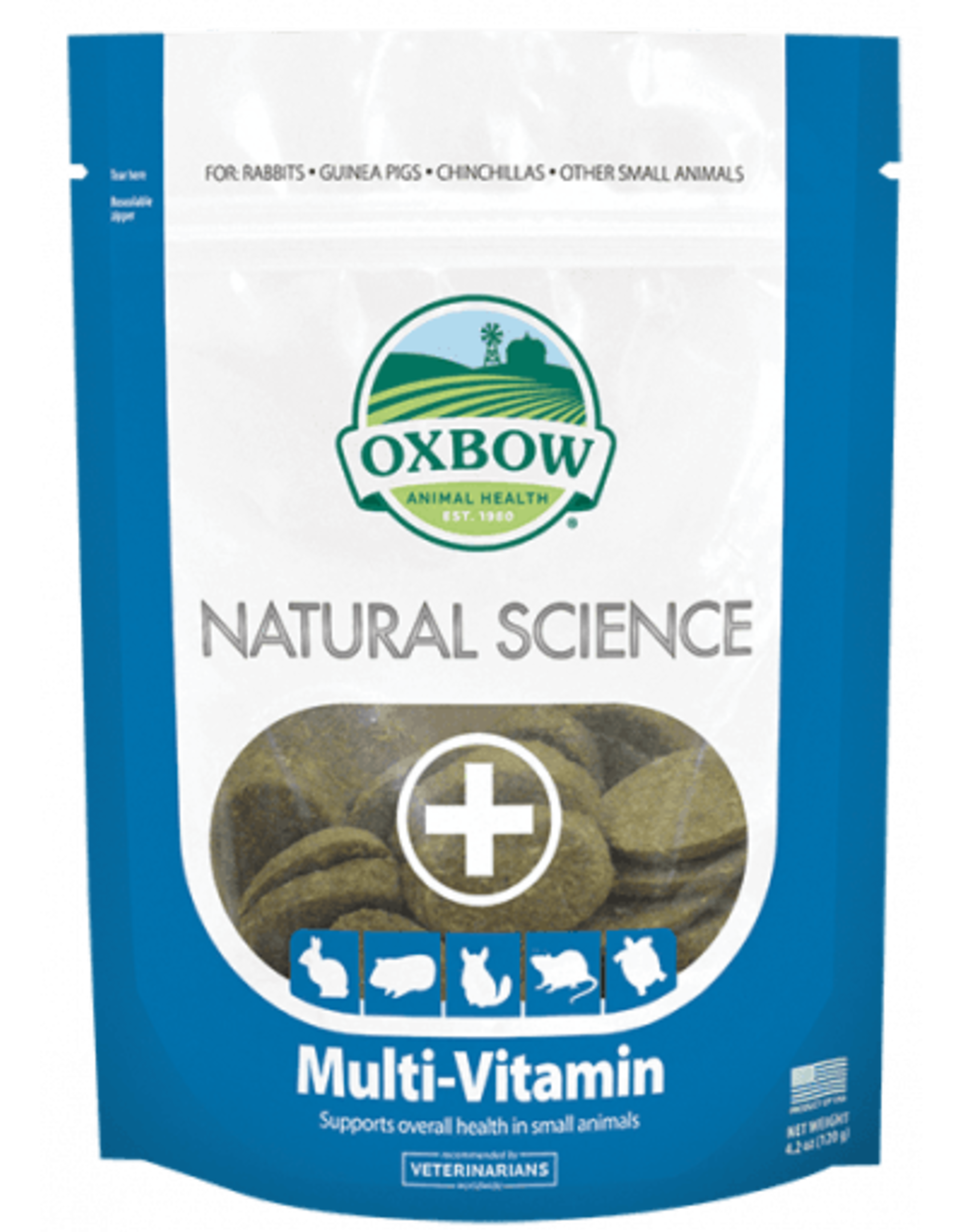 Oxbow OXBOW \ Natural Science \ Multi-Vitamin 60ct