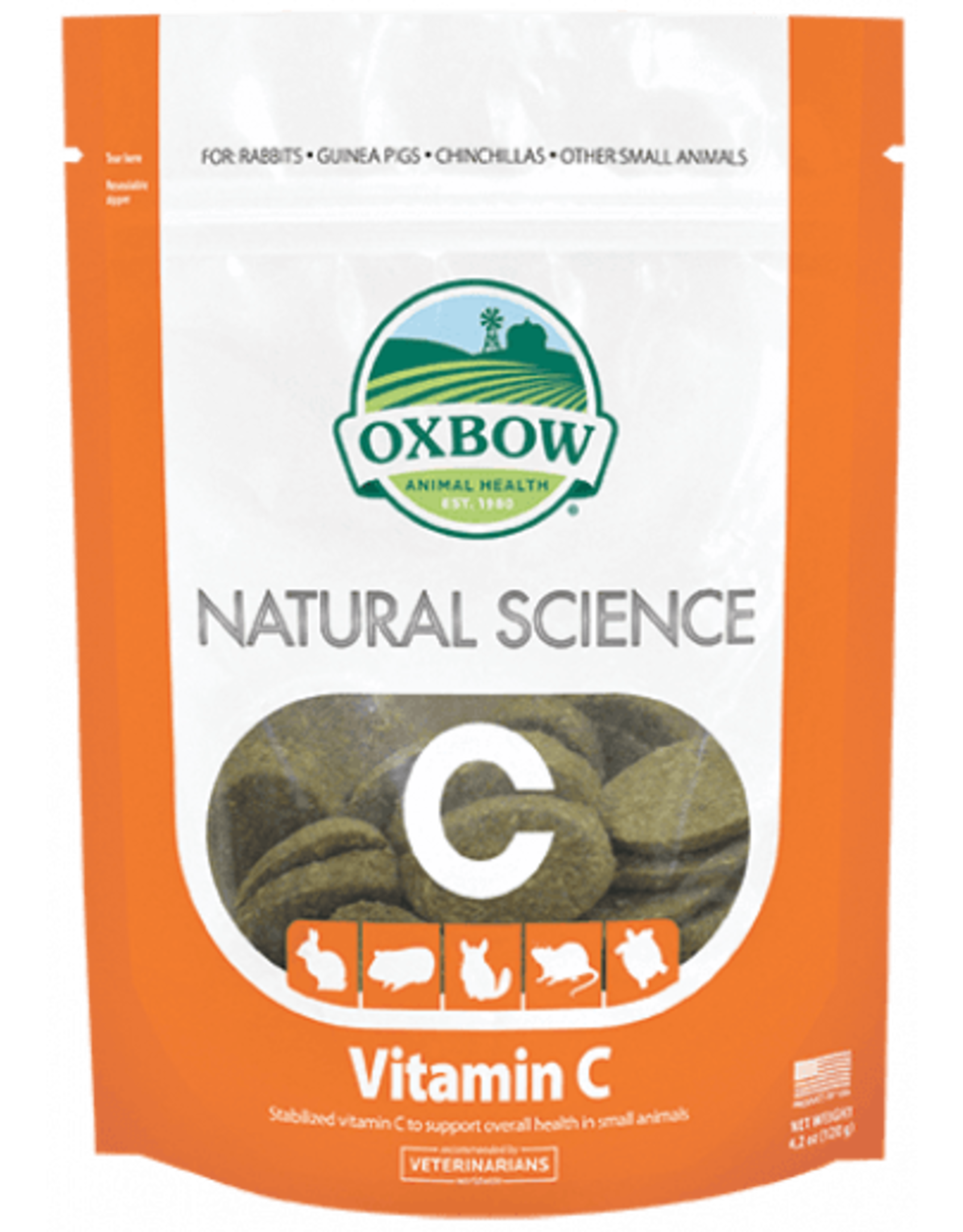 Oxbow OXBOW \ Natural Science \ Vitamin C Supplement 60ct