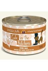 Weruva Weruva Cats in the Kitchen Fowl Ball 6oz