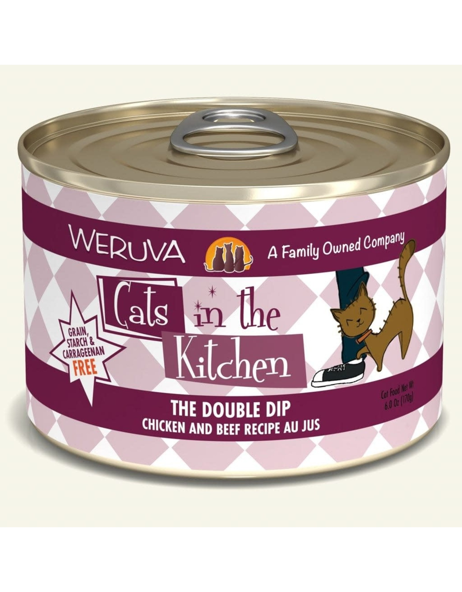 Weruva Weruva Cats in the Kitchen The Double Dip 6oz