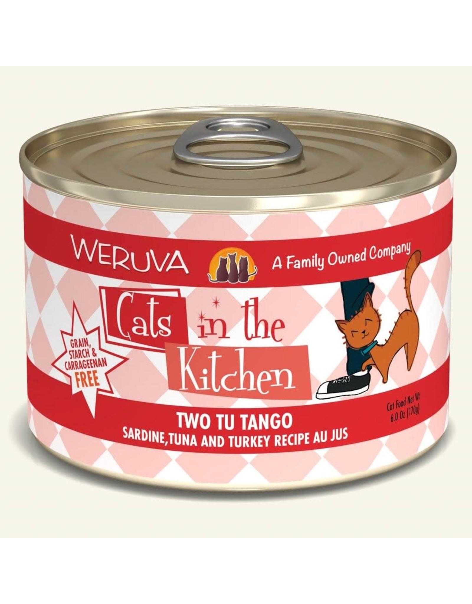 Weruva Weruva Cats in the Kitchen Two Tu Tango 6oz