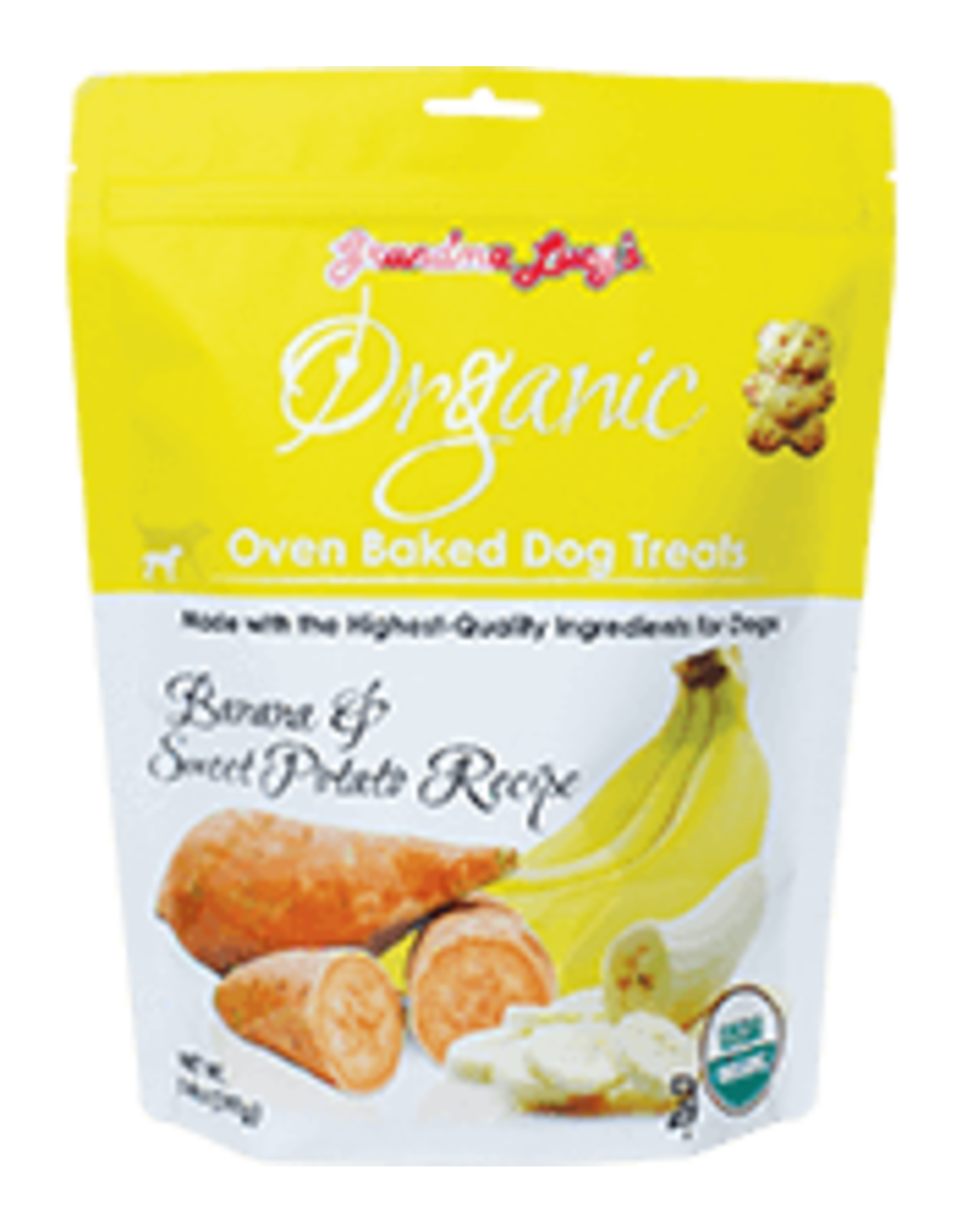 Grandma Lucy's Grandma Lucy's Organic Baked \ Banana & Sw Pot 14oz