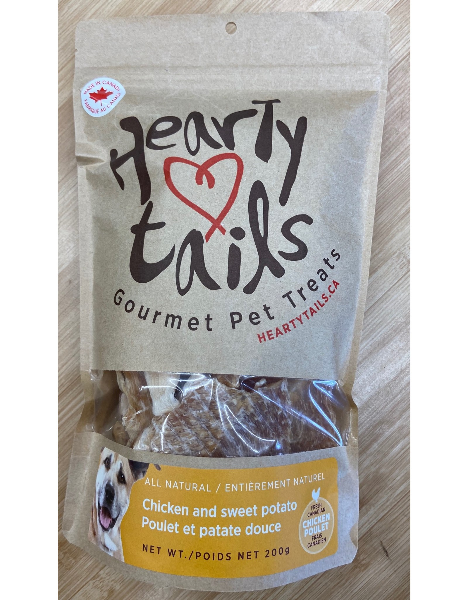Hearty Tails Hearty Tails Pet Treats Chicken and Sweet Potato