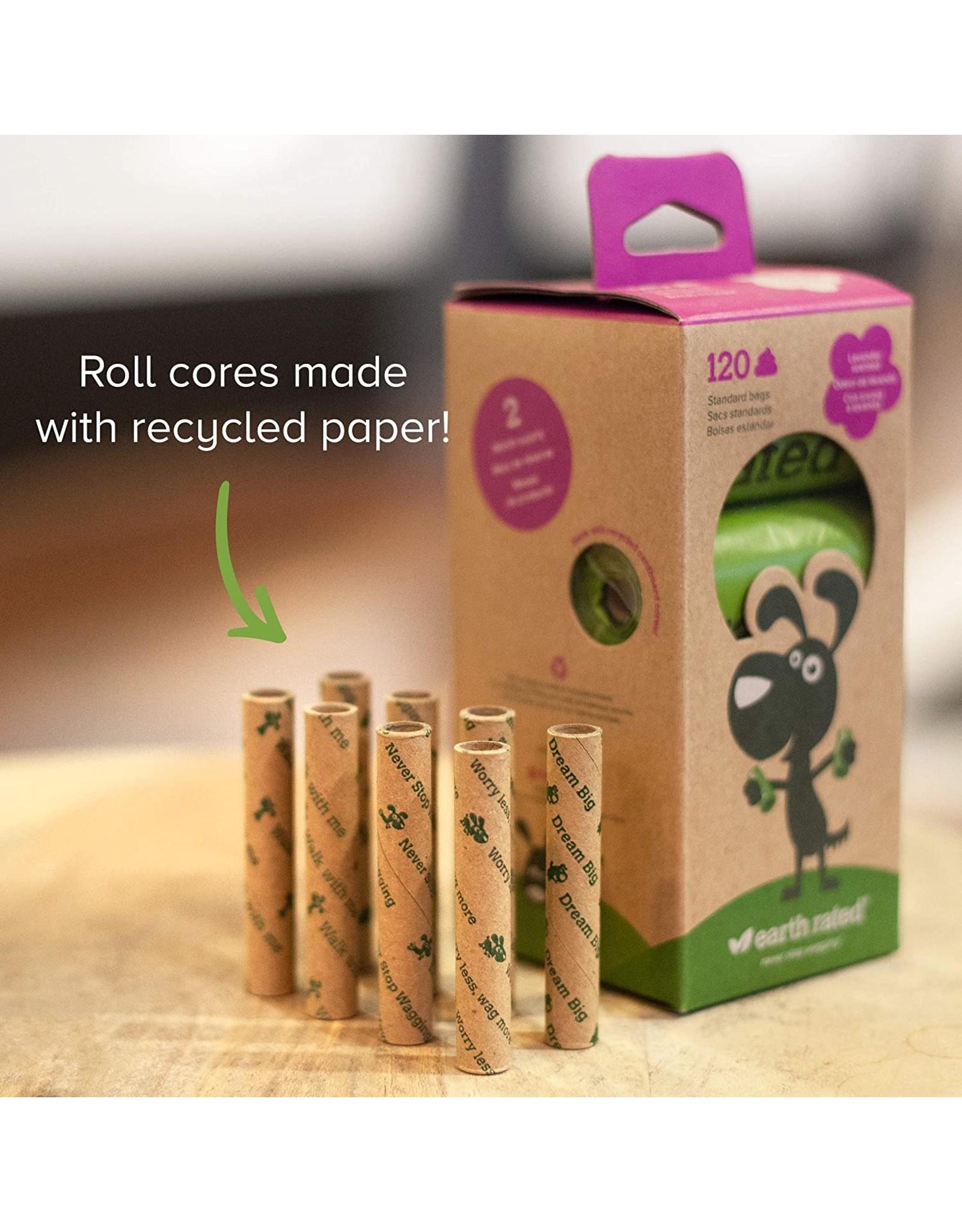 Earthrate Poop Bags Earthrated Poop Bags Lavender Scented Eco-Friendly Bags 120ct