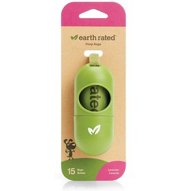 Earthrate Poop Bags Earthrated Poop Bags \ Green Dispenser Capsule w/15ct Bags