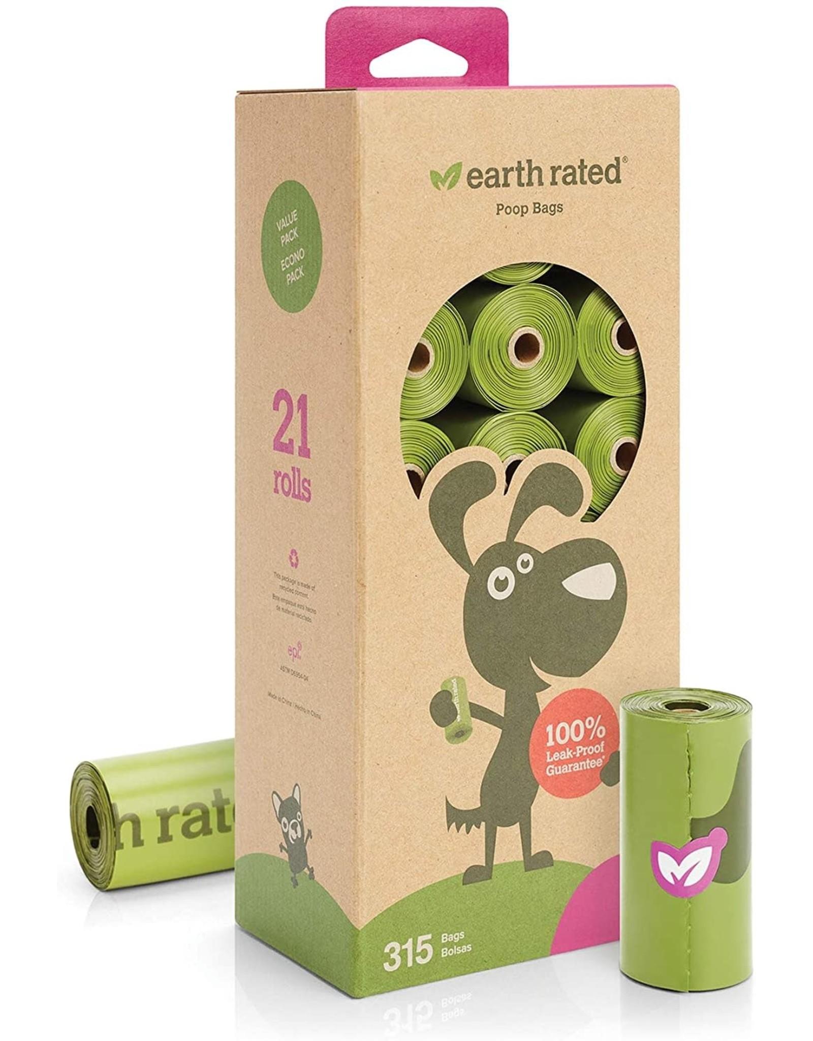 Earthrate Poop Bags Earthrated Poop Bags \ Refill Rolls Bulk (315 Bags)