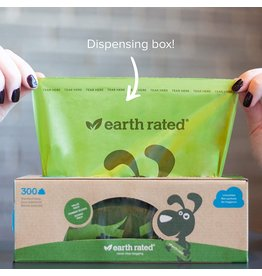 Earthrate Poop Bags Earthrated Poop Bags \ Unscented \ Eco-Friendly Bags 8'' x 13'' (300ct)