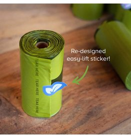 Earthrate Poop Bags Earthrated Poop Bags \ Unscented \ Single Roll Refill (30 Rolls)