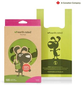 Earthrate Poop Bags Earthrated Poop Bags Lavender Scented Eco-Friendly Handle Bags (120ct)