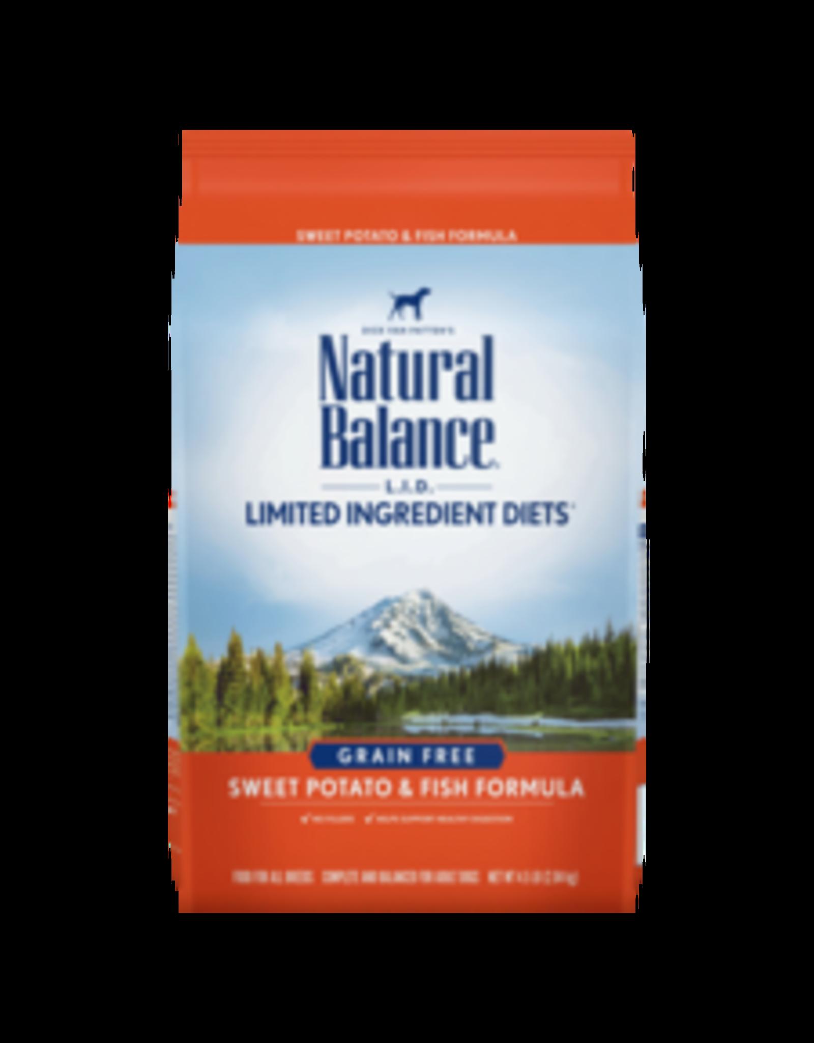 Natural Balance Natural Balance L.I.D Sweet Potato & Fish