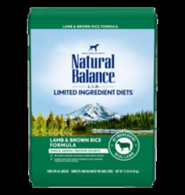 Natural Balance Natural Balance Dog Lamb & Brown Rice