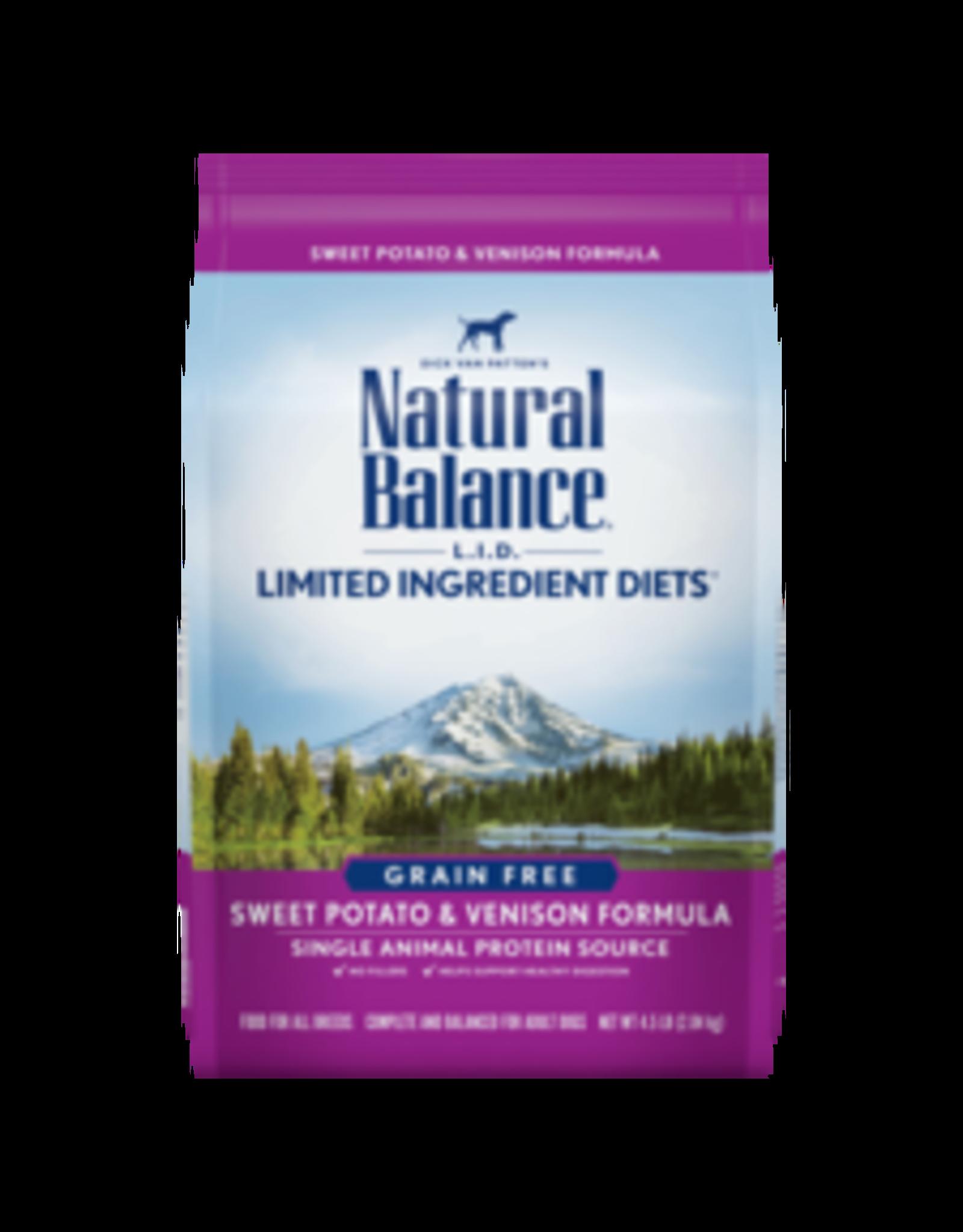 Natural Balance Natural Balance Sweet Potato & Venison