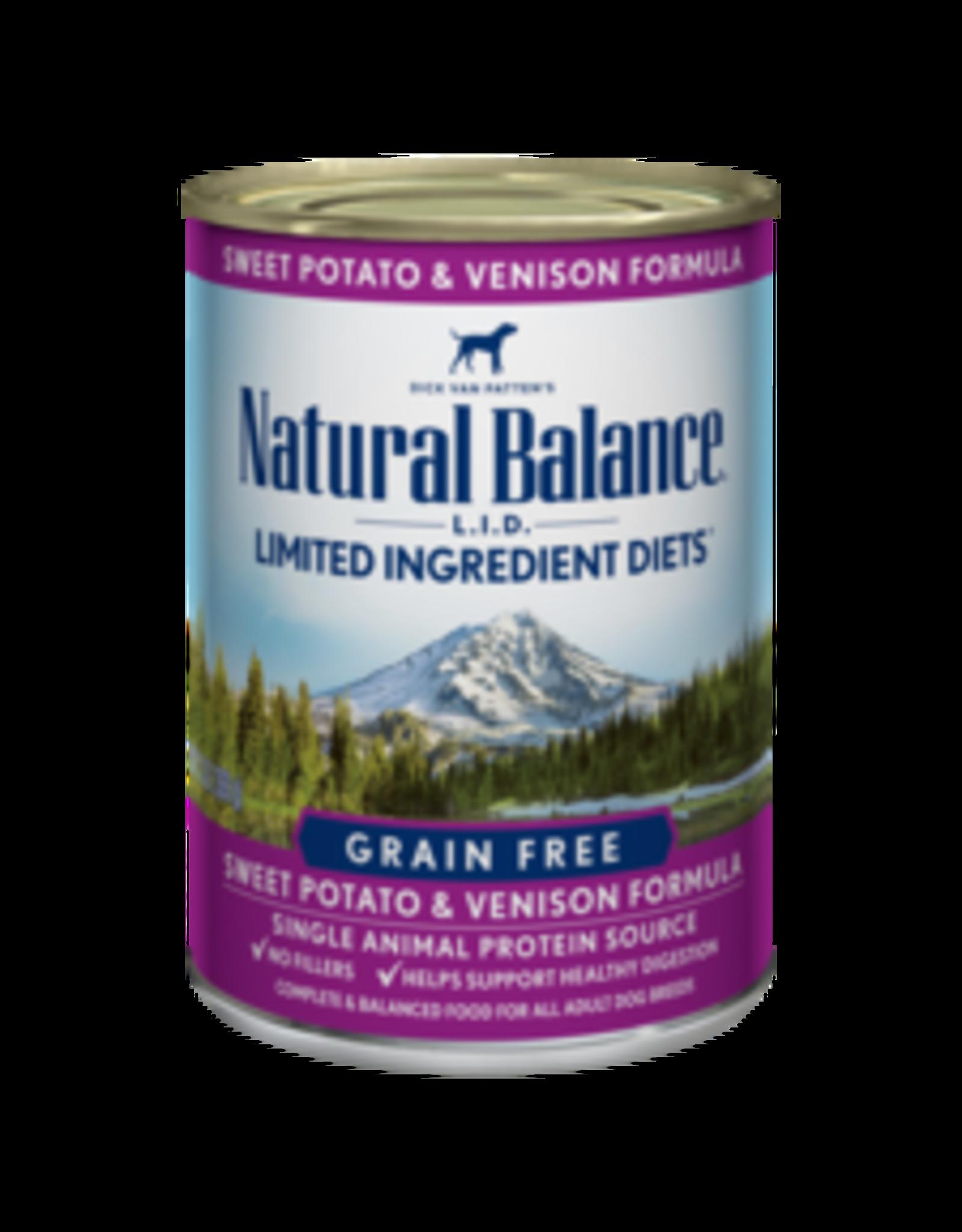 Natural Balance Natural Balance Canine Venison 13oz