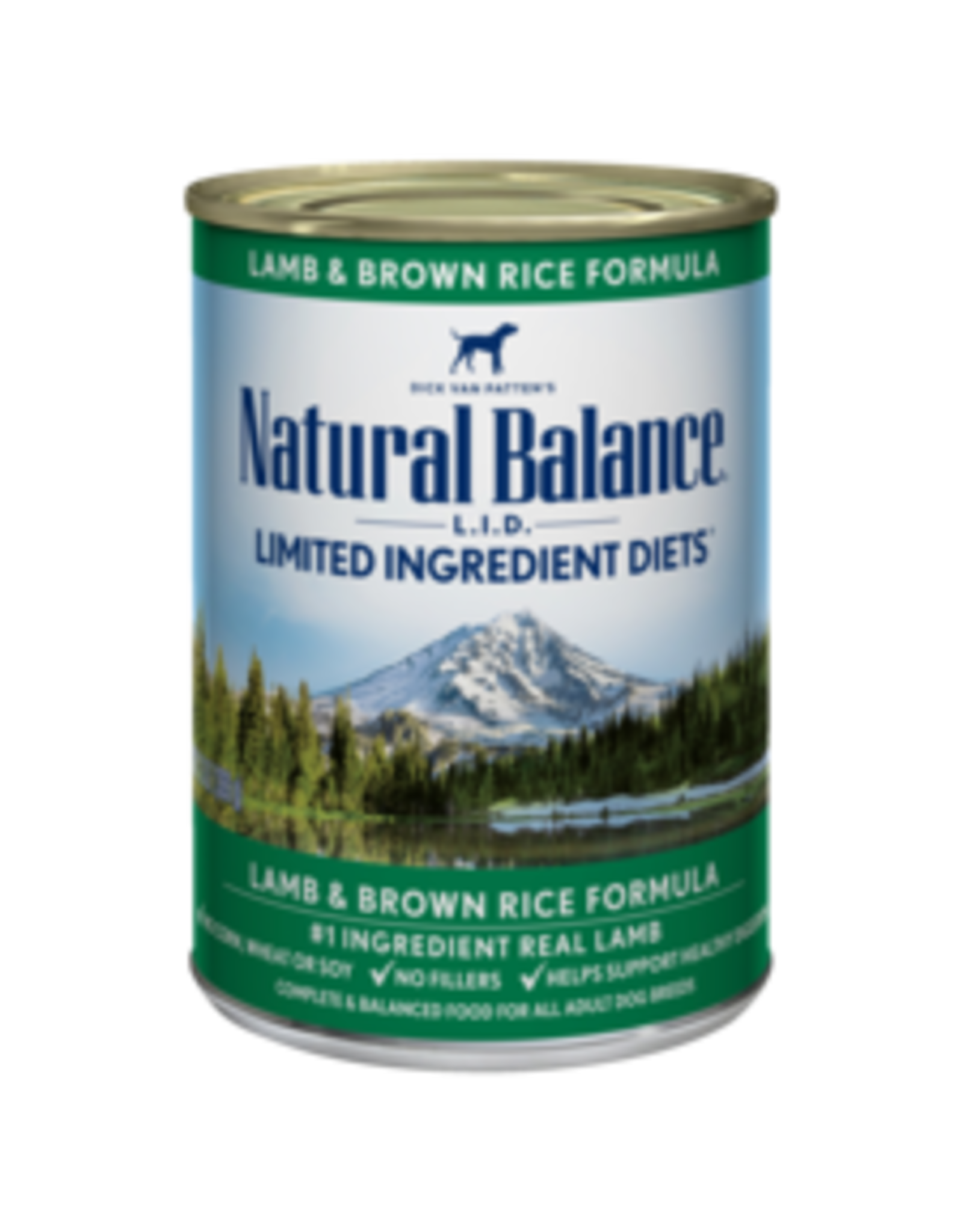 Natural Balance Natural Balance Canine Lamb 13oz