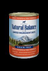 Natural Balance Natural Balance Fish & Potato 13oz