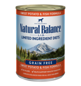 Natural Balance Natural Balance Fish & Potato 13oz
