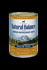 Natural Balance Natural Balance Canine Duck & Potato 13oz