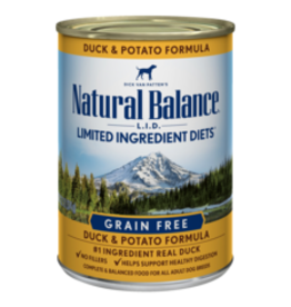 Natural Balance Natural Balance Canine Duck & Potato 13oz