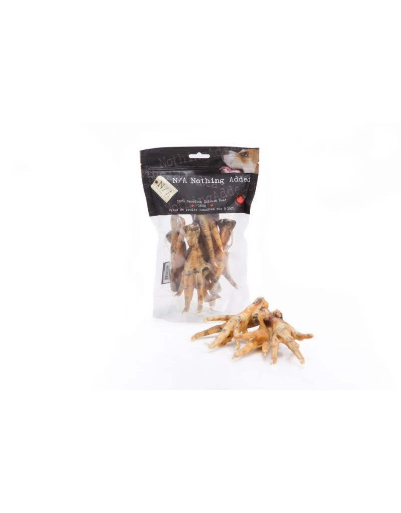 Nothing Added Nothing Added Chicken Feet 150g