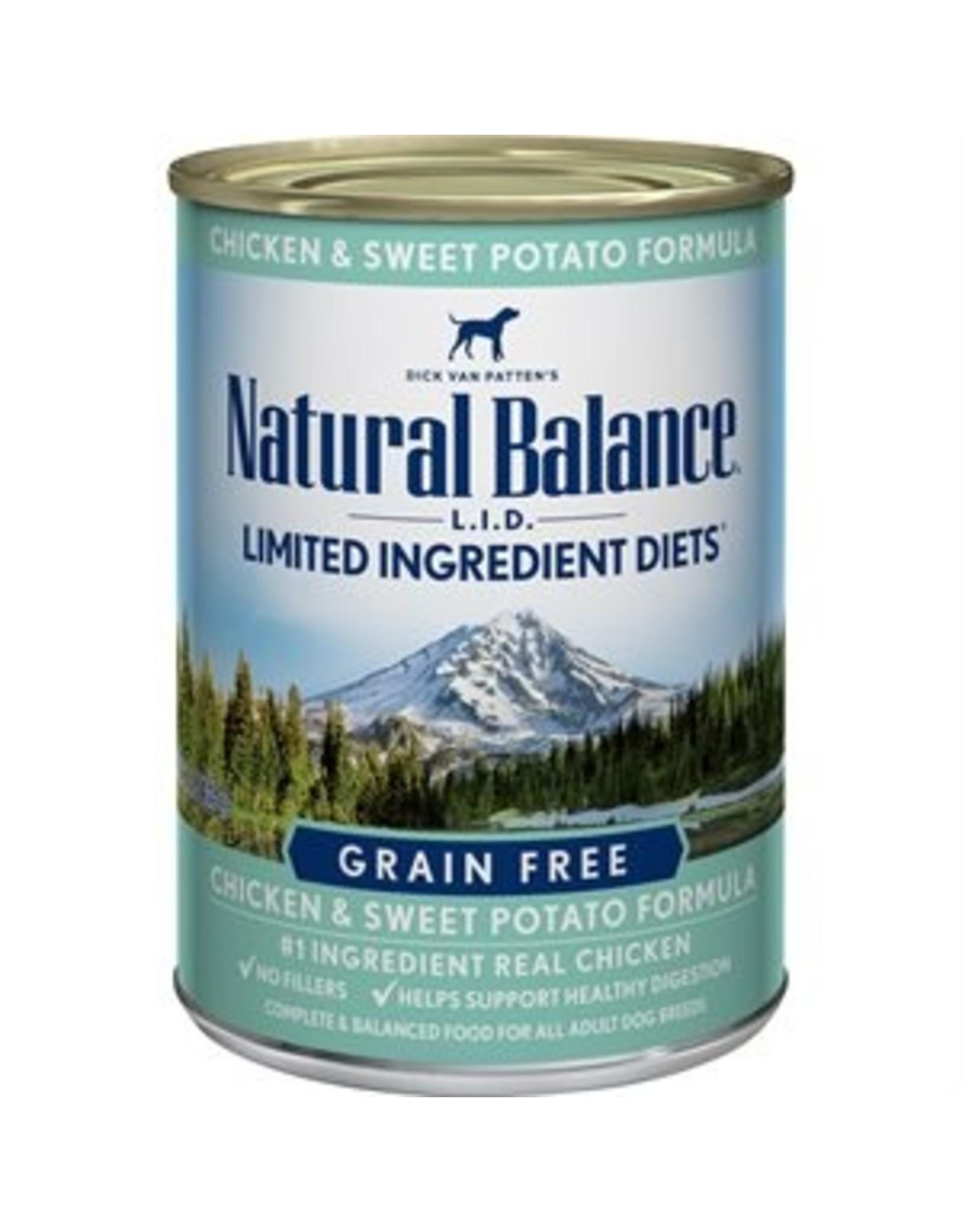 Natural Balance Natural Balance Canine Chicken & Sweet Potato 13oz