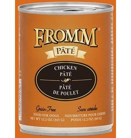 Fromm Fromm Dog GF Chicken Pate 12.2oz