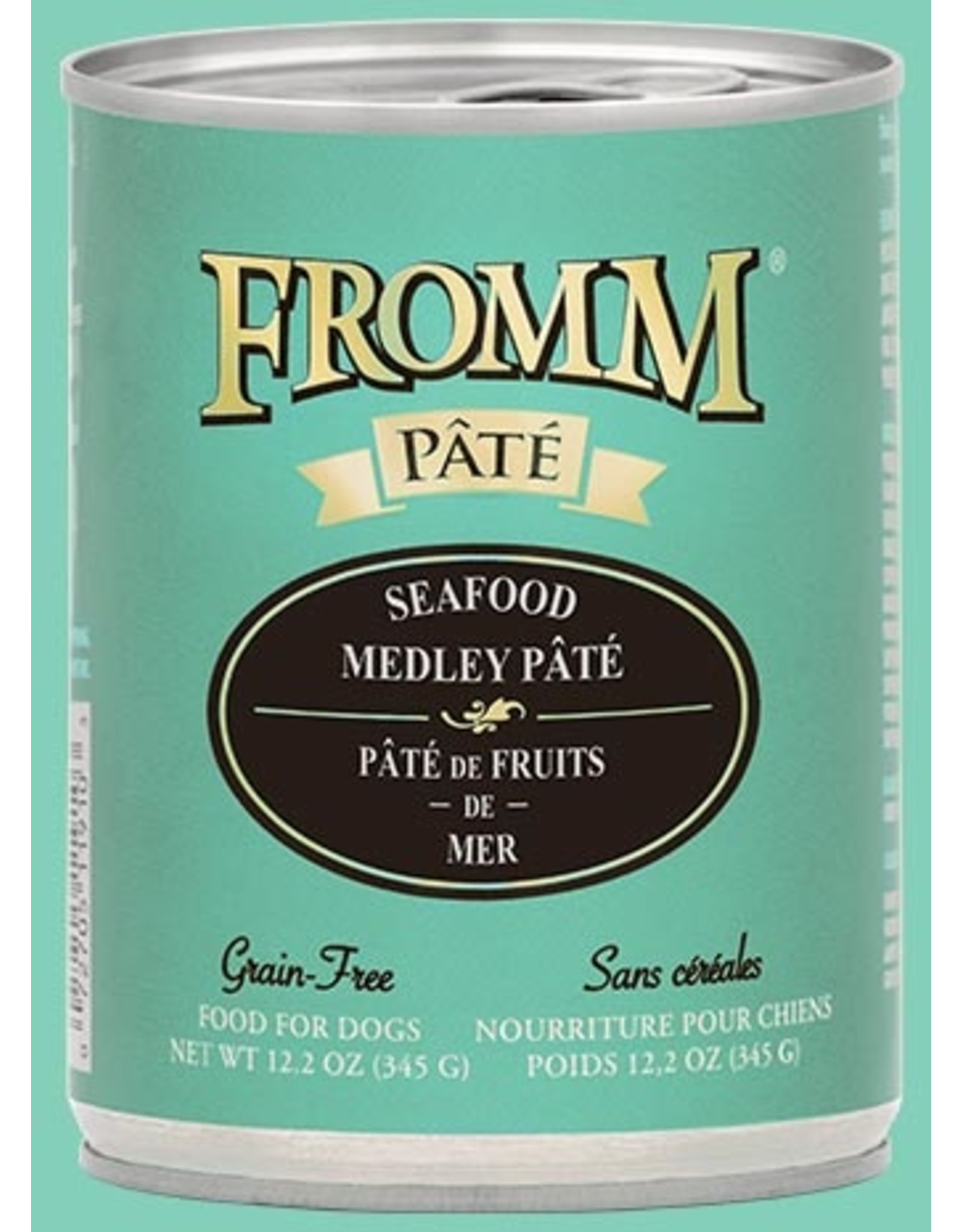 Fromm Fromm Dog GF Seafood Medley Pate 12.2oz